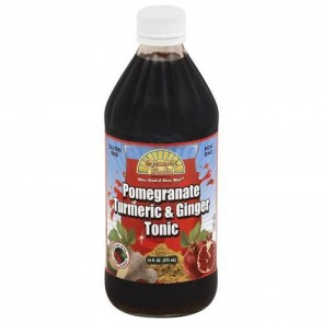 Dynamic Health - Turmeric and Ginger Tonic Pomegranate - 16 oz.