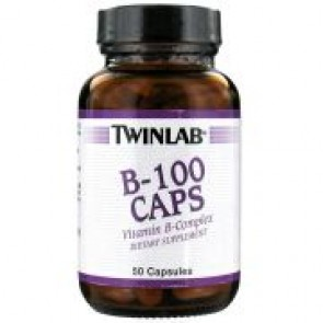 Twinlab B-100 Caps 50 Capsules