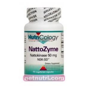 Nutricology Nattozyme 50 Mg 90 Vegicaps