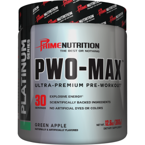 PWO MAX Green Apple