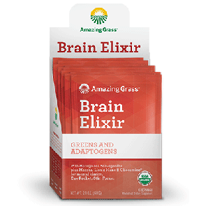 Amazing Grass Brain Elixir | Brain Elixir Packets