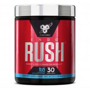 BSN EndoRush Pre-Workout Powder Blue Raz 30 Servings (390 Grams)