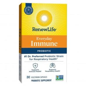 Renew Life Everyday Immune 10 Billion 30 Vegetarian Capsules
