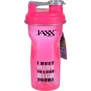 Fit & Fresh Jaxx Shaker Cup (Bust Mine, 28 oz), Pink
