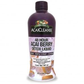 Garden Greens AcaiCleanse 48 Hour Acai Berry Detox Liquid 32 fl oz