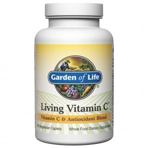 Garden of Life Living Vitamin C 60 Vegetarian Caplets