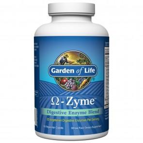 Garden of Life Omega- Zyme 180 Vegetarian Caplets