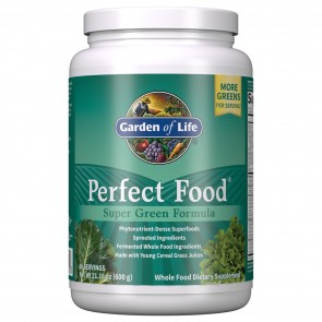 Garden of Life Perfect Food Super Green Formula Powder 21.16 oz