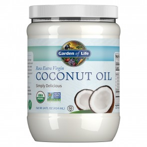 Garden of Life Raw Extra Virgin Coconut Oil 14 fl oz