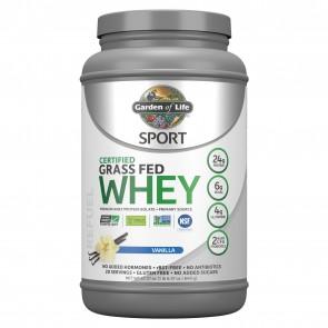 Garden of Life Sport Certified Grass Fed Whey Protein Vanilla 23oz