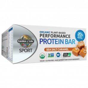 Garden of Life Sport Plant Based Performance Protein Bar Sea Salt Caramel (12 Bars)