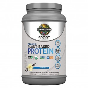 Garden Of Life Sport Organic Plant-Based Protein Vanilla 28.4oz
