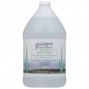George's Aloe - 100% Aloe Vera Liquid Gallon - 128 oz.