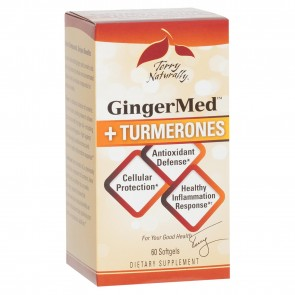 Terry Naturally GingerMed Plus Turmerones 60 Softgels