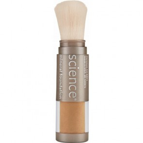 Loose Mineral Foundation Brush SPF 20 Tan Golden | SPF 20 Tan Golden