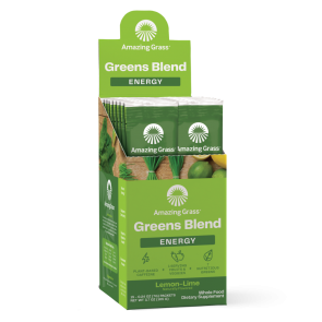 Amazing Grass Green SuperFood Energy Lemon-Lime 15 Individual Packets