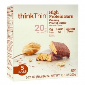 ThinkThin High Protein Bar | ThinkThin High Protein Bar Peanut Butter