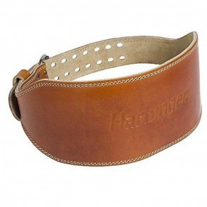 "Harbinger Classic 6"" Oiled Leather WeightLifting Belt (Medium)"