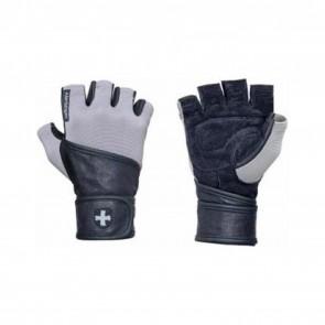 Harbinger WristWrap Classic Glove Black/Gray (Small)