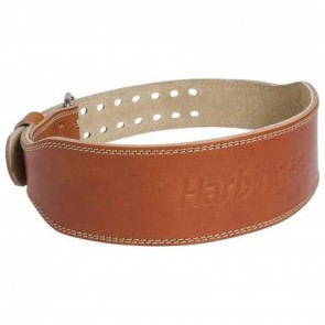 Harbinger 4 Classic Oiled Leather Weightlifting Belt Extra Large
