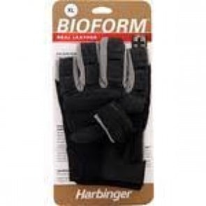 Harbinger Bioform Real Leather Glove Gray (XL)