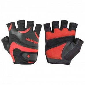 Harbinger FlexFit Ultra Non-WristWrap Lifting Gloves Medium