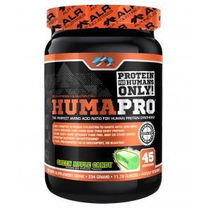 ALR Industries Humapro Powder Green Apple 334 grams