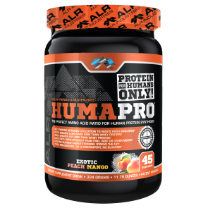 Humapro Powder Exotic Peach Mango Amino Acid Complex (11.78 ounces) 45 Servings by ALR Industries
