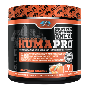 ALR Industries HumaPro Mandarin Orange 7 Servings