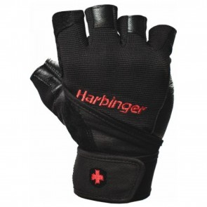 Harbinger WristWrap Glove Pro Black (Medium)