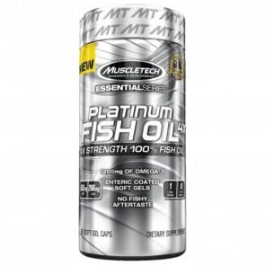 MuscleTech Platinum Fish Oil 4x 60 Soft Gel Caps