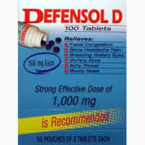 Defensol D 100 Tablets