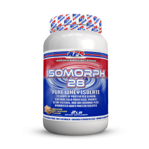 APS Isomorph 28 Pure Whey Isolate Cinnamon Graham Cracker 2 LB