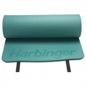 "Harbinger 5/8"" Anti-Microbial Rolled Durafoam Mat Green (340902)"