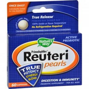 Nature's Way Primadophilus Reuteri Pearls - 60 Pearls