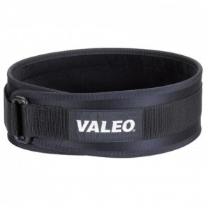"4"" Performance Low Profile Lifting Belt Black (VA4684LG) by Valeo"