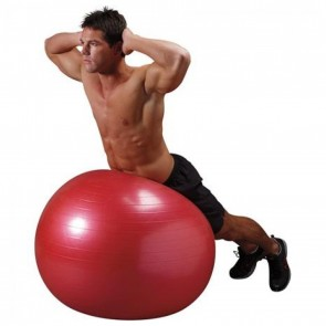 Body Ball 75cm Red (VA4484RE) by Valeo