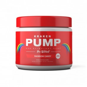 Kraken Pump Pre Workout Rainbow Candy