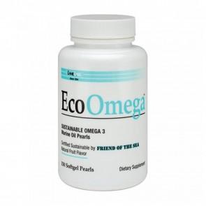 EcoOmega Sustainable Omega 3- 150 Softgels by Lane Labs
