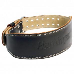 """Harbinger Padded Leather 4"""" Belt M"""