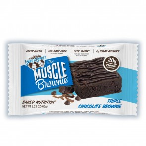 Lenny & Larry's Muscle Brownie Triple Chocolate 2.82 oz pouch