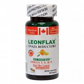 LeonFlax Linaza Reductora De Grasa 60 Capsules by Natural Health Corporation