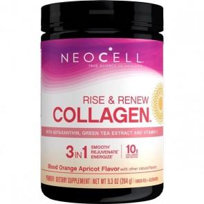 Neocell Rise & Renew Collagen Blood Orange Apricot Flavor 9.3 oz