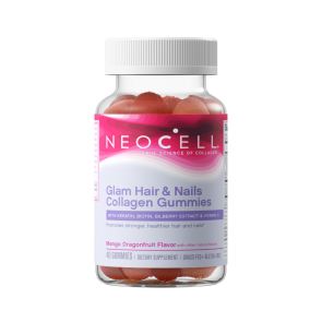 NeoCell Glam Hair & Nails Collagen Gummies 60ct