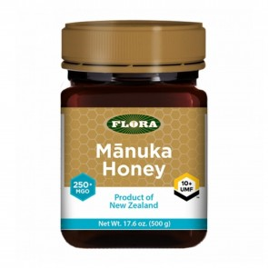 Flora Manuka Honey 250+ MGO 500 Grams