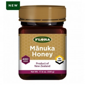 Flora Manuka Honey 400+ MGO 500 Grams