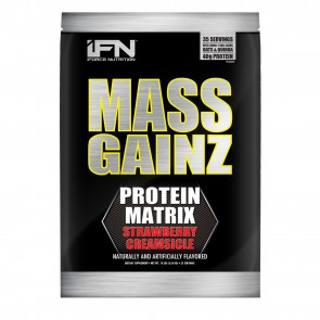 Mass Gainz Strawberry Creamsicle 10lb by iForce Nutrition