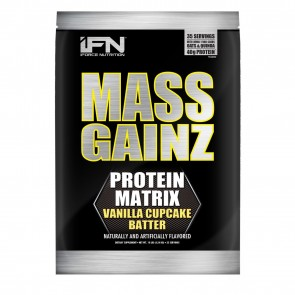 Mass Gainz Vanilla Cupcake Batter 10lb by iForce Nutrition