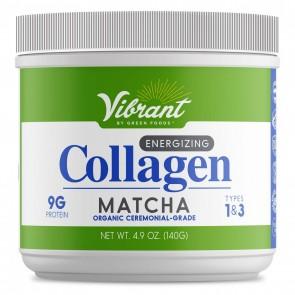 Green Foods Vibrant Energizing Collagen Matcha 140G
