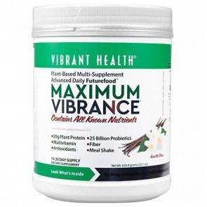 Vibrant Health Maximum Vibrance Vanilla Bean 23.5g